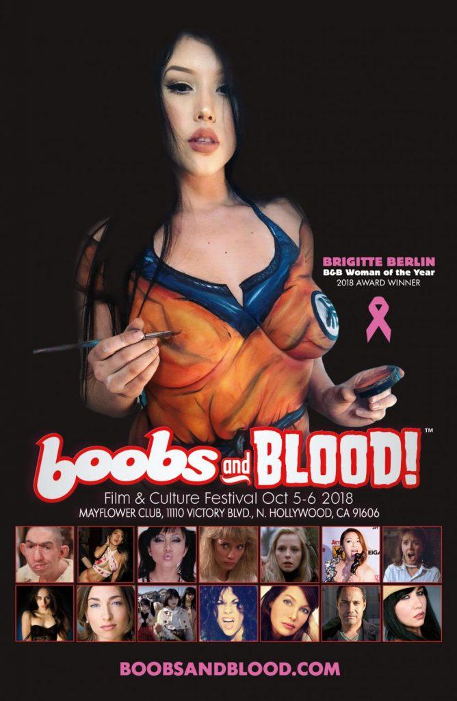 boobs blood