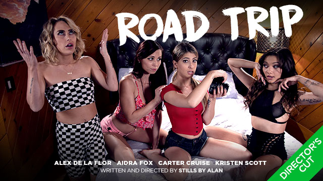 Kristen Scott Rounds Up the Girls for aRoad Tripin Girlsway's New Director's Fantasy Scene