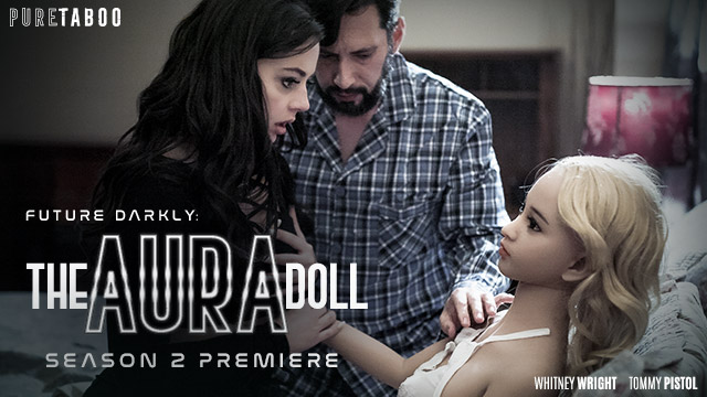 Whitney Wright Gives in to Robot Love in Pure Taboo's Future Darkly: The Aura Doll