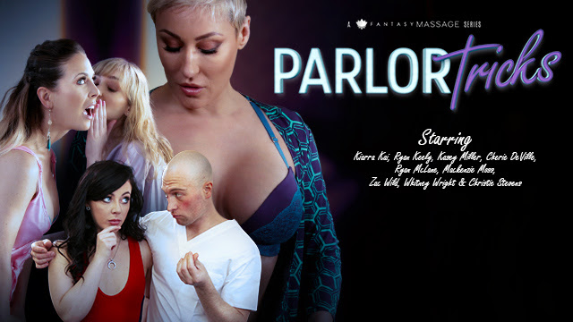 Fantasy Massage Gets Up to Parlor Tricks in First-Ever Three-Part Series for Adult Time