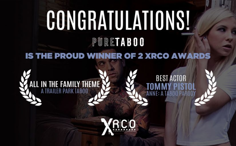 Adult Time Raises a Glass to Pure Taboo's Two XRCO Award Wins