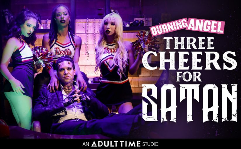 Adult Time Gets Lewd with Lucifer in Burning Angel's Three Cheers for Satan