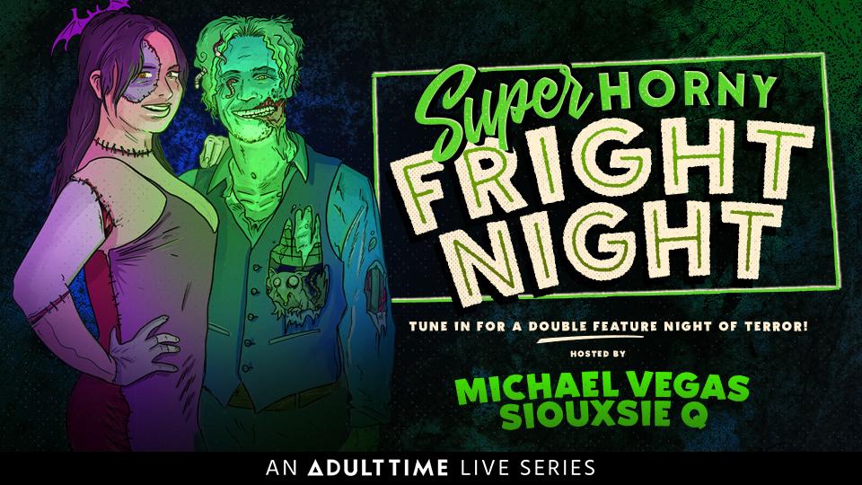 super horny fright night porn movie