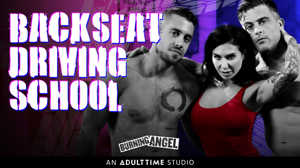 backseat driving school porn movie